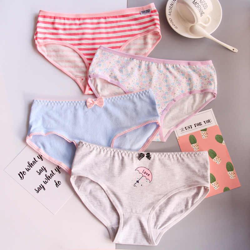9c4cb36a226 ... 2018New Fashion 4Pcs Lot Girl Panties Cartoon Underwear Cotton Briefs  Set Cute Lingerie Soft Comfortable ...