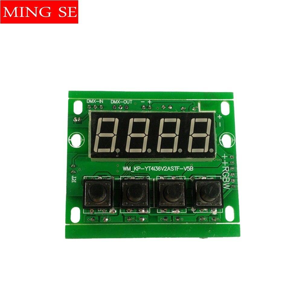 Free Shipping 54*3w LED PAR Motherboard Voltage 12-24V Par Led Rgbw 4in1 54x3w Motherboard 4/8 Channel
