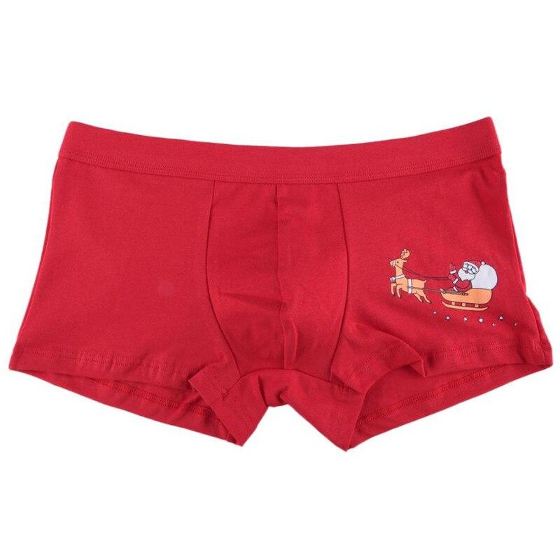 christmas mens santa claus underwear shorts pouchnewly design men s soft underpants sexy gay s boxer shorts underwear 3 in boxers from men s clothing