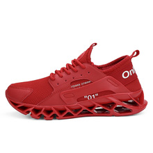 New Spring Men's Shoes With Large Size Crossing The Border In 2019 Flying Mesh Fashion Men's Shoes  Leisure Shoes