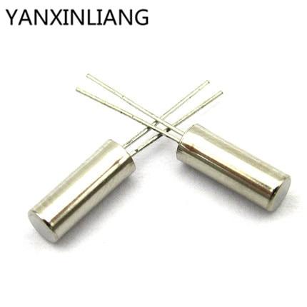 Electronic Components & Supplies Loyal 20pcs 32.768k 32.768khz 32.768 Crystal Oscillator 2x6 Mm Cylinder