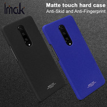 Case Cover For OnePlus 7 Pro IMAK Quicksand Cowboy Matte Touch Anti-Skid Hard PC Back Protective Cover Skin For One Plus 7 Pro