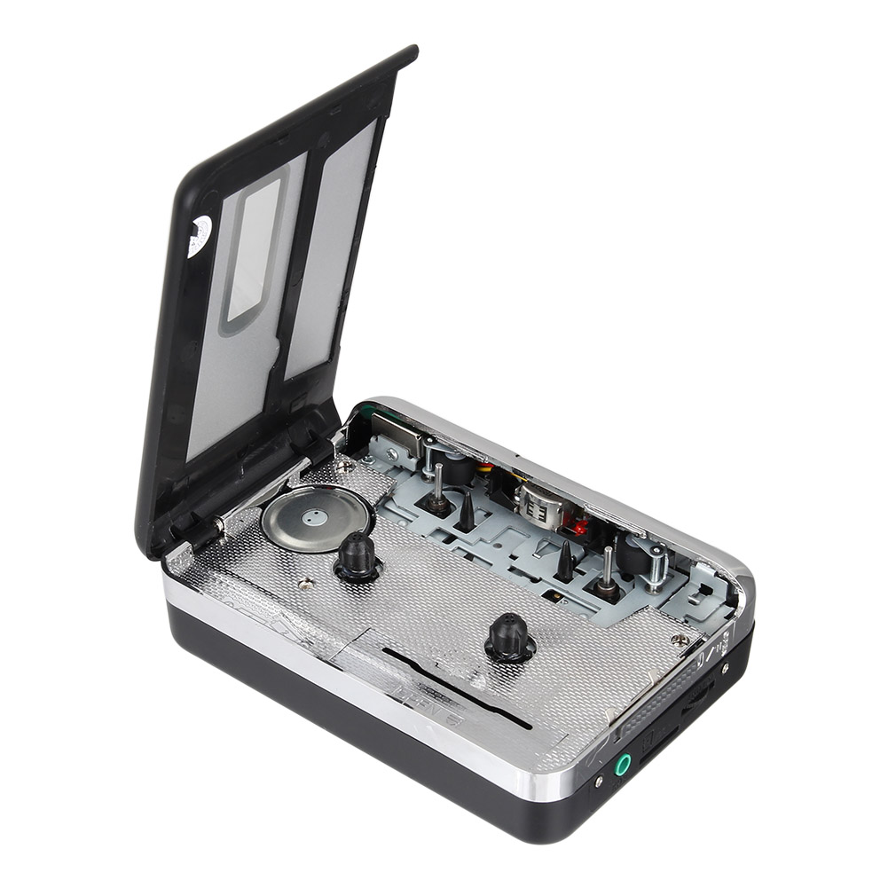 Portable Cassette Tape to USB MP3 Converter Recorder Capture Music Player for Laptop PC QJY99