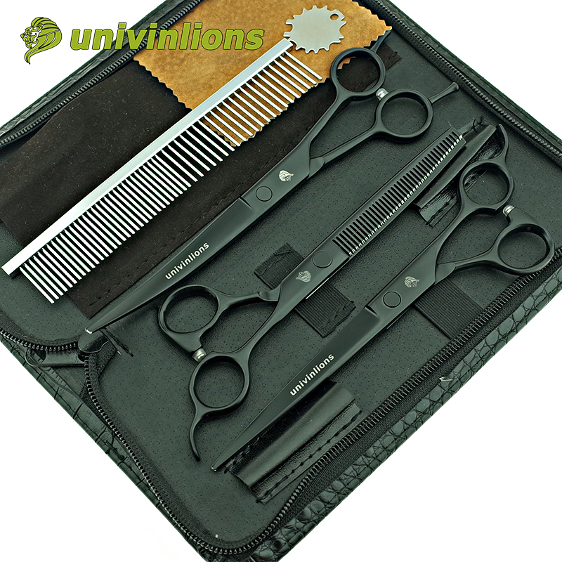 7 5 clearance sale professional dog grooming scissors set dog hair scissors curved grooming pet shears