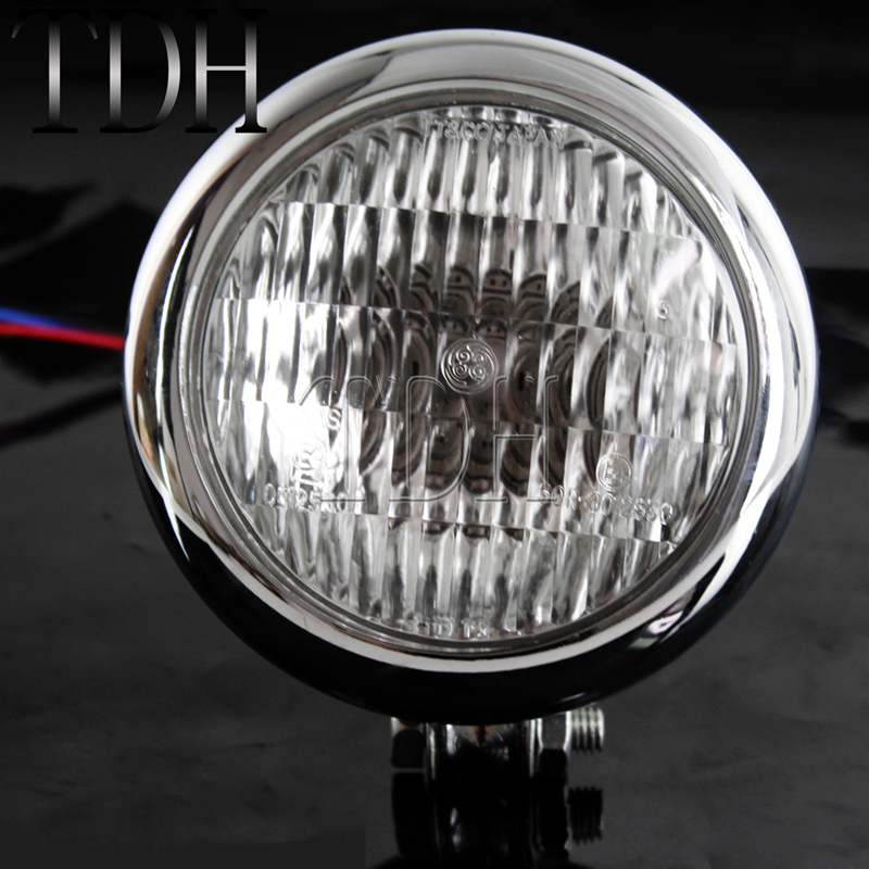 lowest price 2pcs Motorcycles Headlight 3-Modes 6500k White Super Bright  Working Spot Light Headlight Fog Spot Light Auxiliary lamps Switch