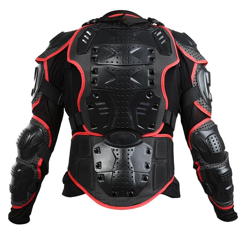 Полный Средства ухода за кожей Панцири куртка позвоночника защиты Грудь передач мотокросс мотоциклетная куртка S-XXXL casaco de motocicleta xnc