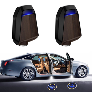 2pcs Rechargeable Wireless Car Door Led Welcome Laser Projector Logo Ghost Shadow Light Car-styling Car Interior Lamp Lights