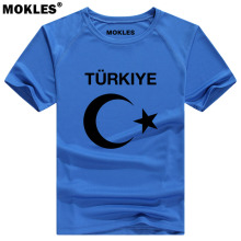 TURKEY t shirt diy free custom name number tur T Shirt nation flag tr turkish republic