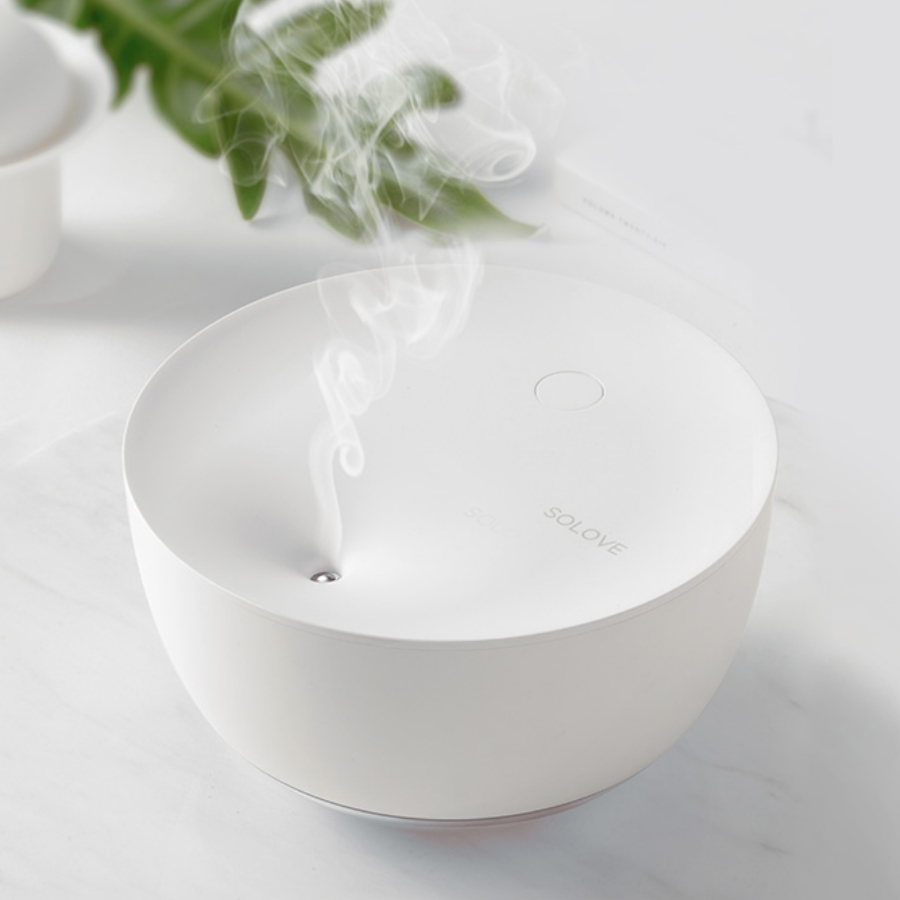 Xiaomi Solove H1 Ultrasonic Air Humidifier 500ML Capacity Night Light Air Humidifier Household Mini USB Mist Maker Water SprayerXiaomi Solove H1 Ultrasonic Air Humidifier 500ML Capacity Night Light Air Humidifier Household Mini USB Mist Maker Water Sprayer