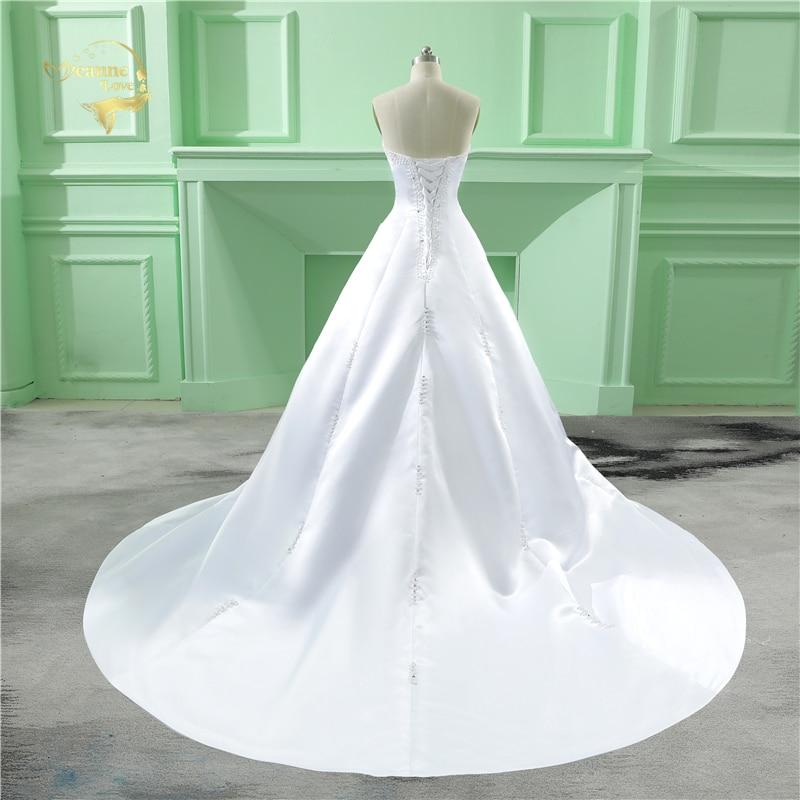 Partihandel Vestido De Noiva 2019 Klassisk Design Perfekt Casamento - Bröllopsklänningar - Foto 2