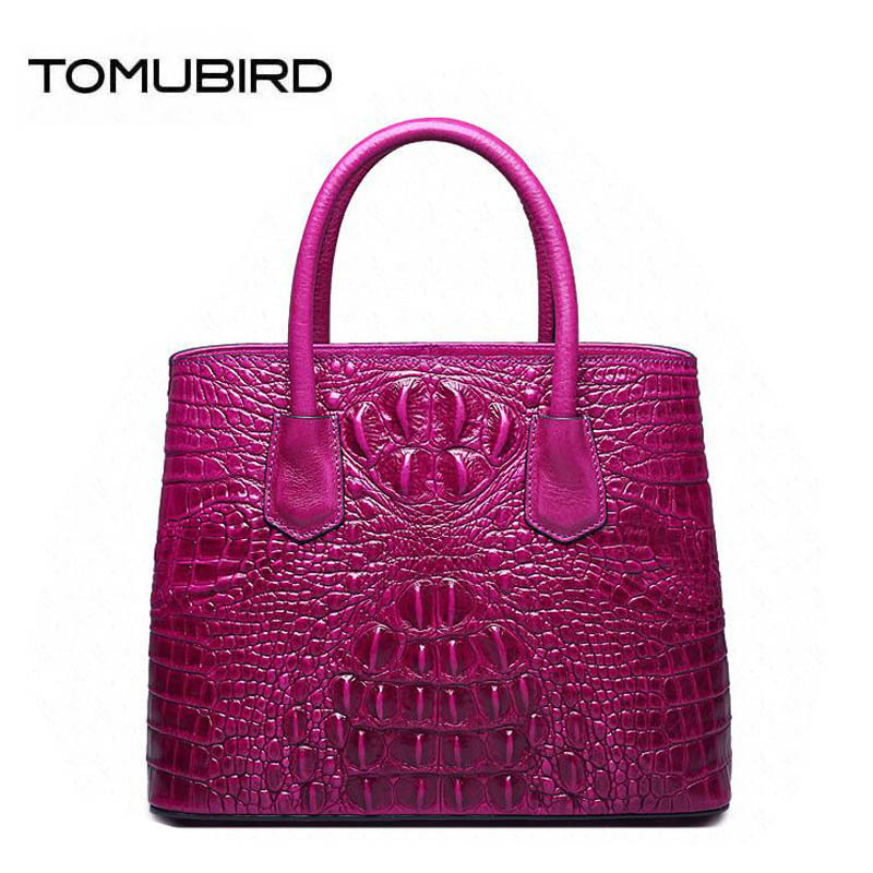 TOMUBIRD new superior Cowhide Hand Fashion art bag Crocodile luxury handbags women bags designer women genuine leather bags 2018 yuanyu 2016 new women crocodile bag women clutches leather bag female crocodile grain long hand bag