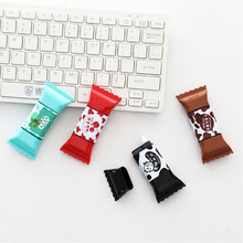 1X Cute Creative chocolate candy 3.5M durable correction band Correction Tape material escolar Kawaii Stationery gift