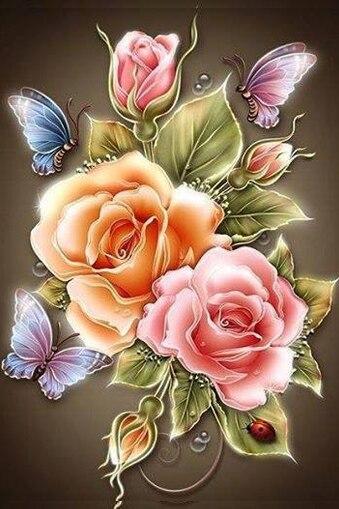 78 Gambar Bunga Mawar Dan Kupu Kupu Paling Hist Gambar Pixabay