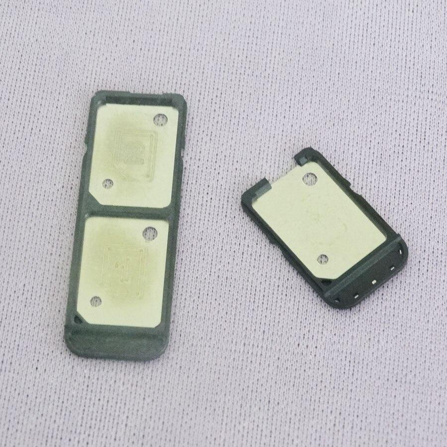 10pcs/lot Dual Single SIM Card Tray Slot Holder Case Housing Cover For Sony Xperia C5 C6 Ultra E5563 E5553 E5506 XA F8332 F3112