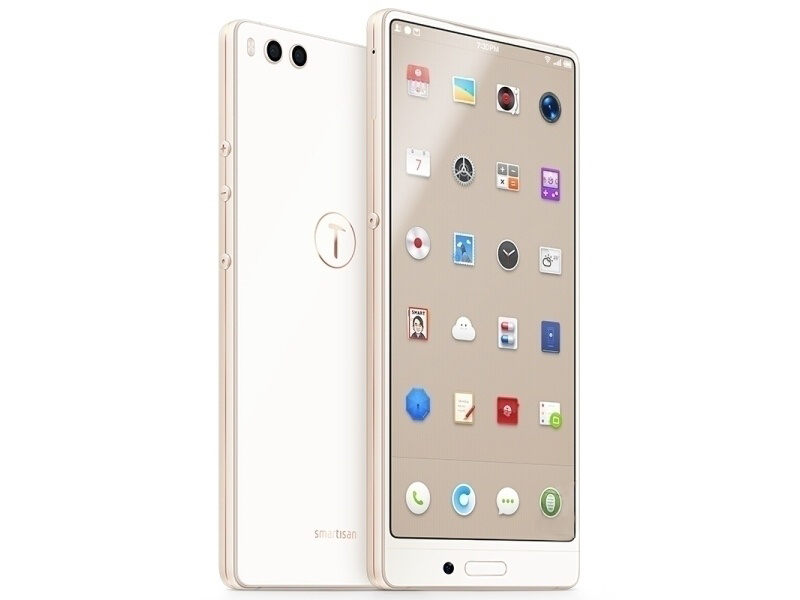 New Unlock Original Smartisan Nut 3 4G LTE Smartphone 5.99 4GB RAM 128GB Dual SIM Card Fingerprint 2160x1080 Mobile Phone