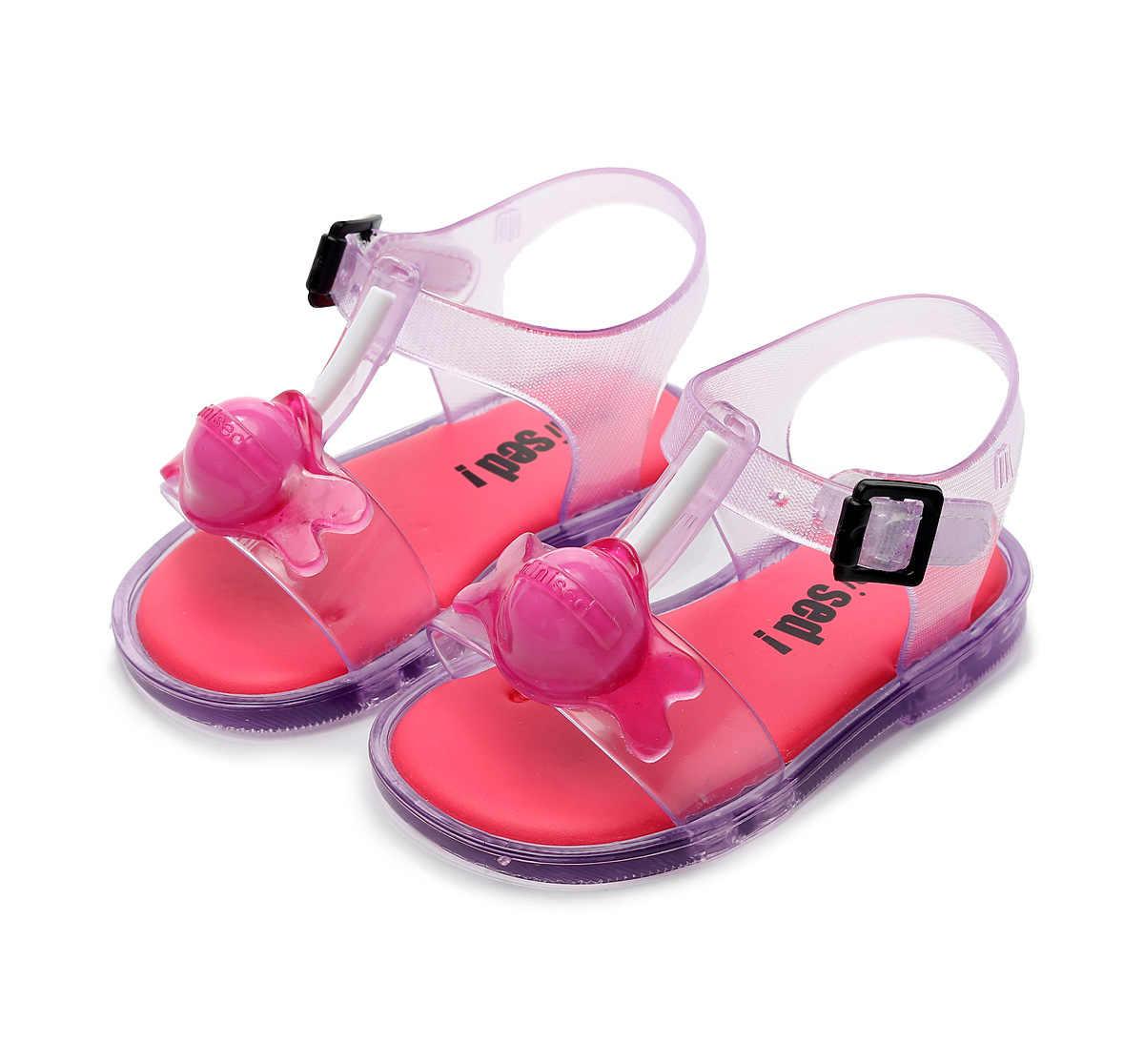 เด็ก MINI รองเท้าแตะ 2019 แฟชั่นสาวใหม่ Sticks Jelly รองเท้าเด็ก PVC รองเท้าแตะเด็กรองเท้าชายหาดรองเท้ารองเท้า