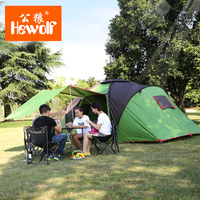 5 8 Person Large family Tent Waterproof Camping Tent Good Quality Sun Shelter Four Season Gazebo Beach Tent Two Room One Hall