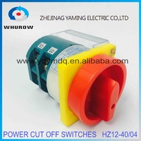 Rotary Switch 2 Postion Off On Padlock 2 Poles 40A HZ12 40 04 Universal Power Cut