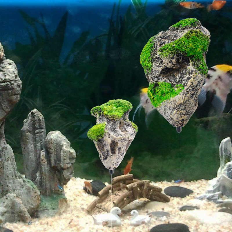 Floating Rock Aquarium Landscape Ornament Stone Water