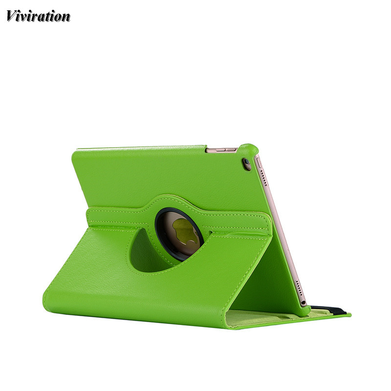 Viviration 360 Rotating Good Use Tablet Case For Apple iPad Air / iPad 5 Luxury Smart Flip Stand Cover 9.7 Hard Tablet Cover