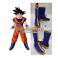 Dragon Ball Son Goku Kakarotto Cosplay Botas de Los Hombres Adultos de Halloween Cosplay Zapatos Por Encargo D0426
