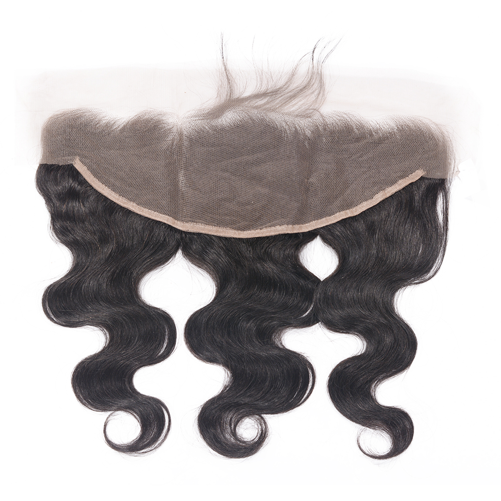 Favor Ear to Ear Lace Frontal Closure 13X4 Free Part With Baby Hair Brazilian Body Wave Human Hair Remy Hair Frontal Closure