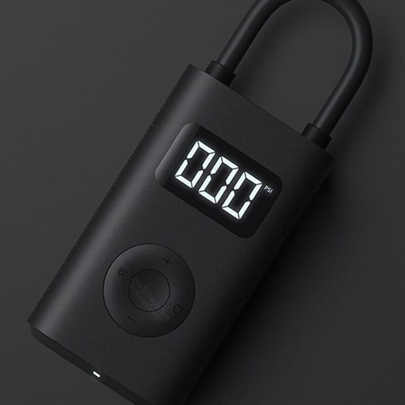 Image 2 - New Original Xiaomi Mijia Portable Smart Digital Tire Pressure  Detection Electric Inflator Pump for Bike Motorcycle Car FootballSmart  Remote Control