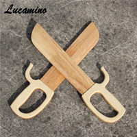 New Natural Wing Chun Butterfly Swords, wooden double knives, wood Bart Cham Dao, China martial arts artworks crafts performance