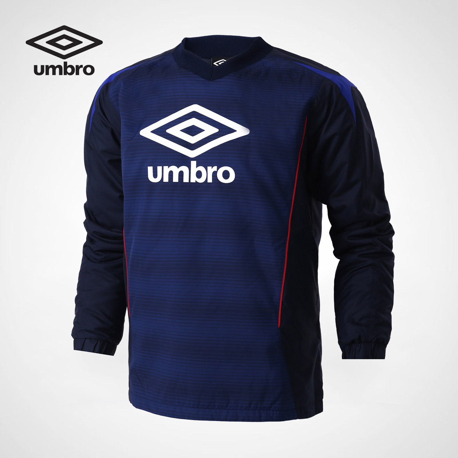 Umbro 2018 Men Long Sleeved Soccer Jerseys 100% Polyester Slim Fit Short-sleeve Men Football Shirt Training Sportswear UJB63019 цена 2017