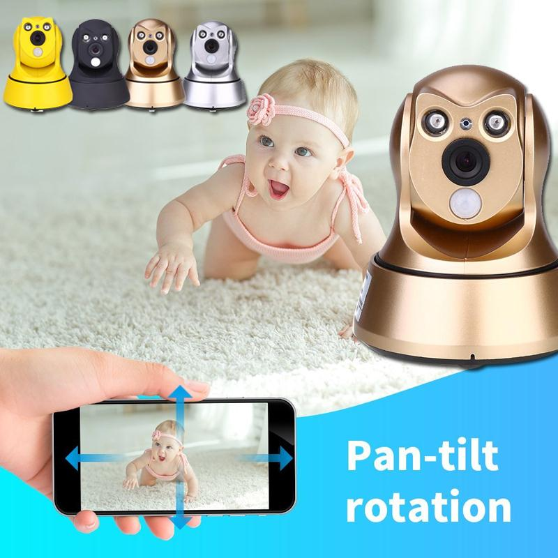 giantree HD Baby Monitor Surveillance Camera PIR temperature detection Network IP Camera Wireless Camera Infrared night vision