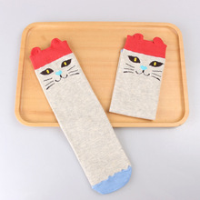 Kids Knee High Cartoon Animal Socks