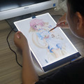 LED A4 painting tracing board copy pad panel drawing tablet art craft stencil tatoo design box with usb 3C art set