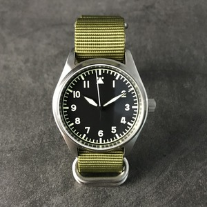 Image 1 - 산 마틴 패션 여성 남성 파일럿 시계 스테인레스 스틸 시계 200m 방수 자동 운동 손목 시계 사파이어 39mm