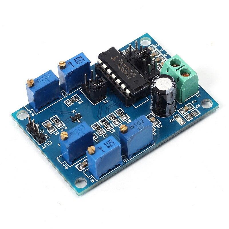 ICL8038 Générateur de Signaux Moyen/Faible Fréquence 10Hz-450 KHz Triangulaire/Rectangulaire/Onde sinusoïdale Générateur Module 12 V à 15 V