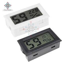 Mini LCD Digital Thermometer Hygrometer Temperatur Indoor Bequem Temperatur Sensor Feuchtigkeit Meter Gauge Instrumente