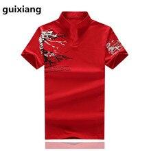 2017 New model Polo shirt Men's informal trend printed 100% cotton Polo shirts Men's top quality pure cotton Polo shirts
