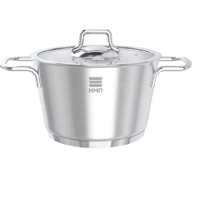 Кастрюля Нева металл посуда, АЛМАЗ, 1,7 л кастрюля жаровня нева металл посуда горячий шоколад с крышкой сковородой 3 5 л