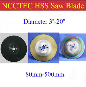 "16"" inch 400 x 2.0/2.5/3.0 x 32MM HSS high speed steel circular saw blade for cutting stainless steel DM05 DM06 M42 A"