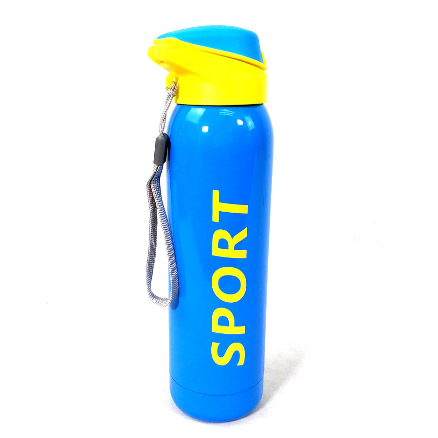 Outdoor Sport Bottle Portable Plastic Water Bottle Fitness Camping Bicycle
