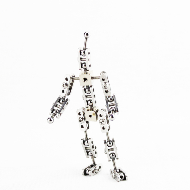 CINESPARK SBA-12 12CM baby type Not-Ready-Made stainless steel DIY stop motion character puppet armature kit