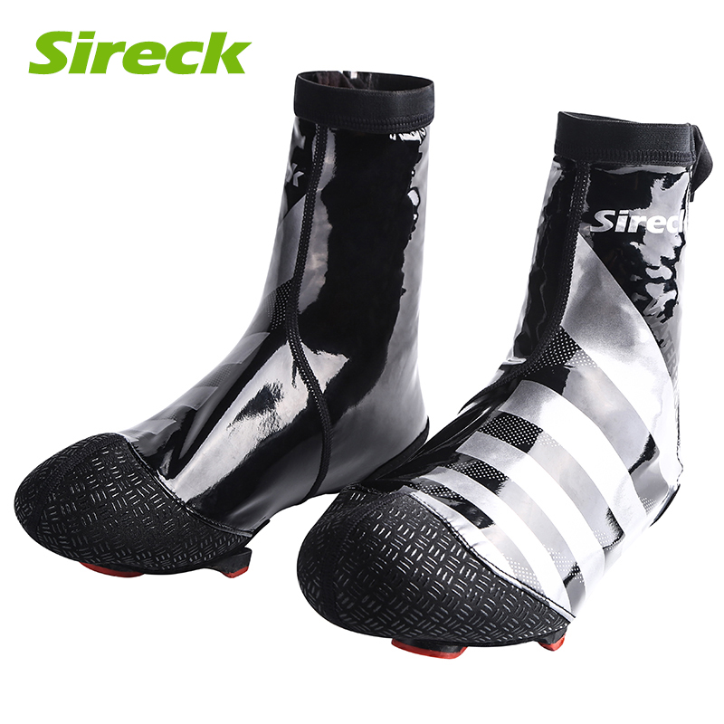 Sireck Waterproof Cycling Shoe Covers MTB Road Bike Shoe Cover PU Bicycle Overshoes Sports Shoe Galocha Copriscarpa Ciclismo