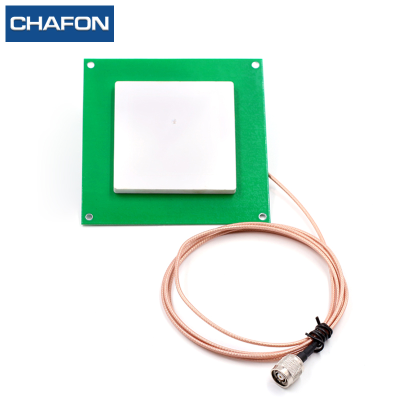 CFAFON 80mm*80mm 6dBi ceramic 915mhz rfid antenna with RHCP polarization used for ангельские глазки 80 mm