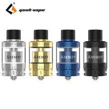 D'origine GeekVape Ammit 25 RTA Atomiseur 2 ml/5 ml 3D Amélioré Système de Circulation D'air et Extensible Réservoir Énorme Vaporisateur Cigarette électronique