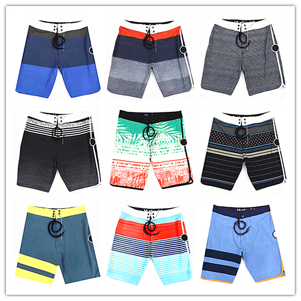 2019 Brand Fashion Phantom Men Beach   Board     Shorts   Swimwear Bermuda Masculina Adults Boardshorts Quick Dry Elastic Sportswear