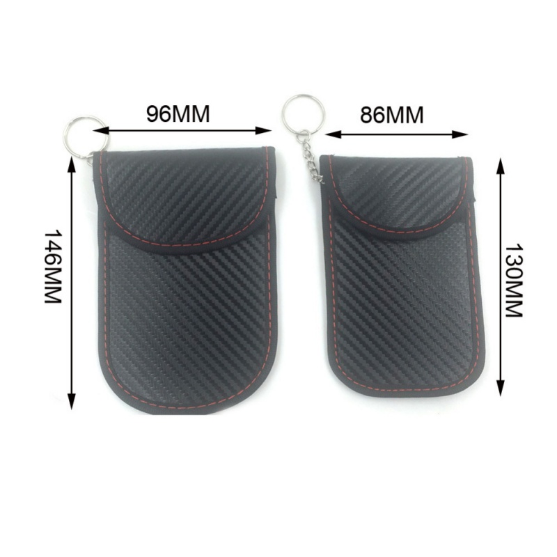 2020 RFID Signal Blocking Bag Cover Signal Blocker Case Faraday Cage Pouch For Keyless Car Keys Radiation Protection Cell Phone 1