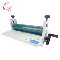 NEW 14 350mm Manual tools roll laminating machines Photo Vinyl Protect Rubber Cold Laminator 1pc