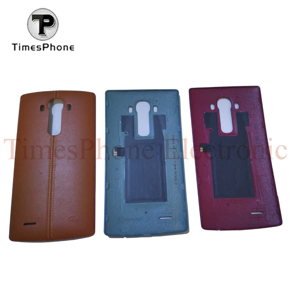 Для LG G4 Редкие из натуральной кожи оригинальные Батарея дверь задняя крышка Корпус случае Бесплатная доставка