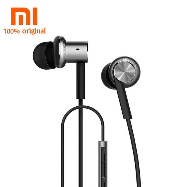Original xiaomi híbrido fone de ouvido fone de ouvido com microfone remoto para xiaomi redmi red mi telefone móvel fone de ouvido do computador mp3 pc
