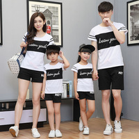 Sport Family Matching Outfit Mom And Daughter Clothes Set Father And Son Outfits Big Sister And
