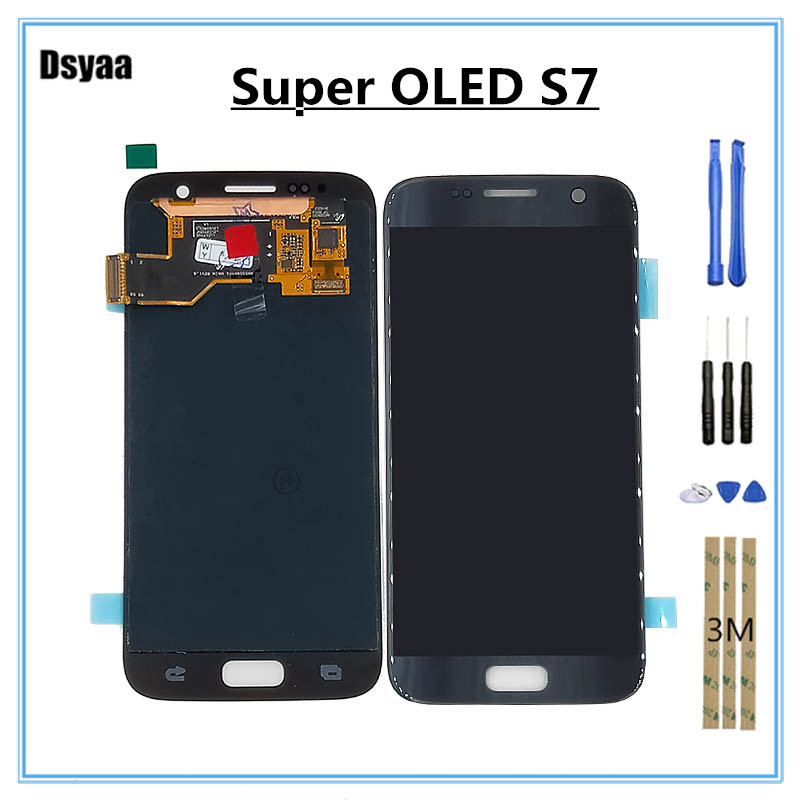 5.1 Inch Super OLED for SAMSUNG for GALAXY S7 G930A G930F G930 LCD Display Touch Screen Digitizer Assembly5.1 Inch Super OLED for SAMSUNG for GALAXY S7 G930A G930F G930 LCD Display Touch Screen Digitizer Assembly